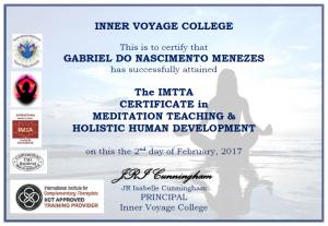 Meditation Teacher - Gabriel Menezes