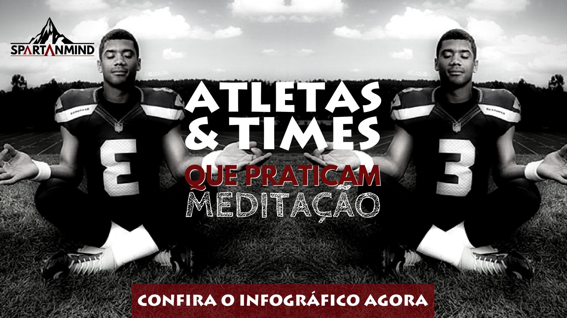 Capa Atletas e Times que Meditam