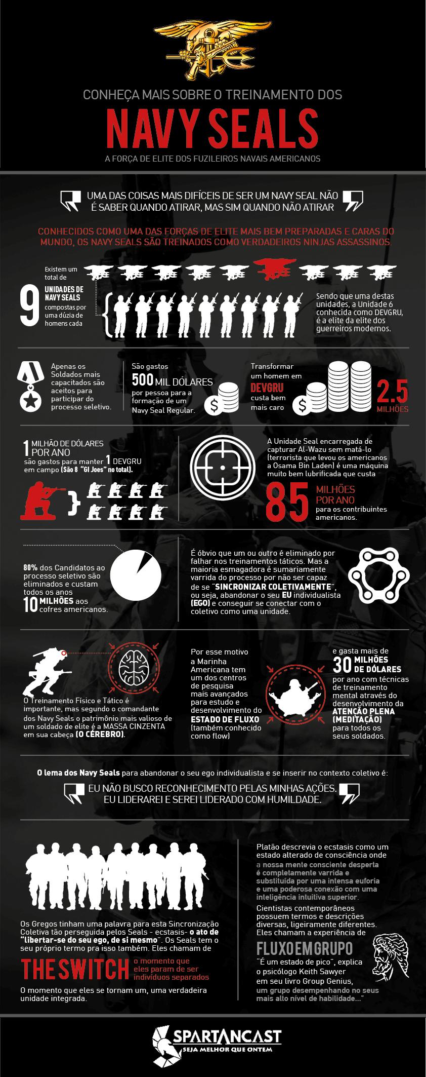 Infográfico Navy Seals