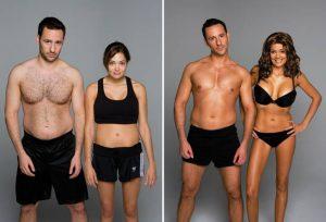fitchato transformação corporal