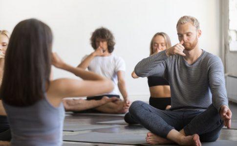 Respiração do Yoga