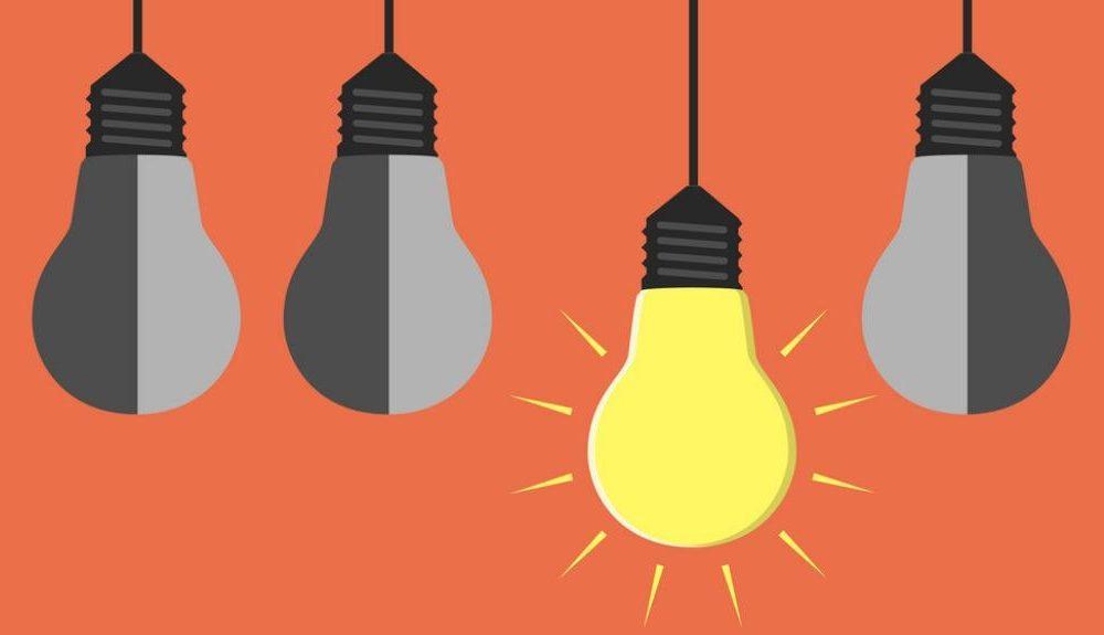 boas ideias e criatividade